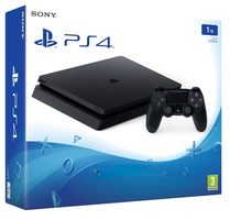 SONY PlayStation 4 - 1TB slim Black CUH-2016B / černý