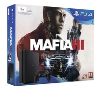 SONY PlayStation 4 - 1TB Slim Black CUH-2016B + MAFIA III