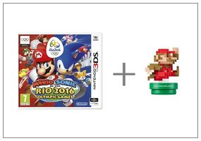 3DS Mario & Sonic at the Rio 2016 + Classic amiibo / Sportovní / Angličtina / od 7 let / Hra pro Nintendo 3DS
