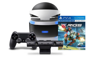 Playstation VR Starter Kit RIGS Machanized Compat League / brýle pro virtuální realitu na Playstation 4/ druhý DS4/kamer