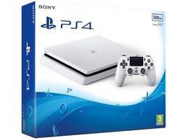 SONY PlayStation 4 - 500GB Slim White CUH-2016A / bílý