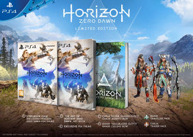 PS4 Horizon Zero Dawn Special Edition / RPG / Angličtina / od 16 let /  Hra pro Playstation 4