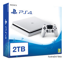 SONY PlayStation 4 - 2TB slim White CUH-2016 / bílý