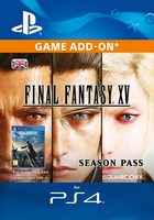 PS4 Final Fantasy XV Season Pass / Elektronická licence / RPG / Angličtina / od 16 let / Season Pass
