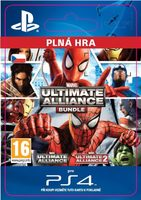 PS4 Marvel: Ultimate Alliance Bundle / Elektronická licence / RPG / Angličtina / od 16 let / Hra pro Play Station 4
