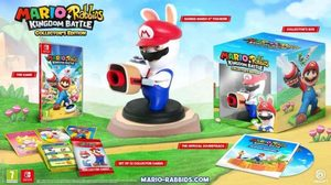 Switch Mario + Rabbids Kingdom Battle: Collector's / Strategie / Angličtina / od 7 let / Hra pro Nintendo Switch
