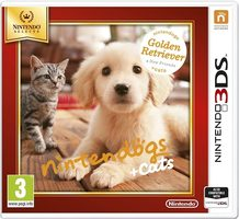 3DS Nintendogs+Cats-Golden Retr&new Friends Select / Simulátor / Angličtina / od 3 let / Hra pro Nintendo 3DS