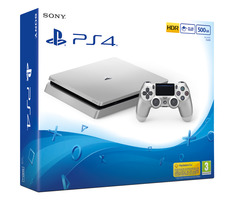 SONY PlayStation 4 - 500GB Slim Silver CUH-2016A / stříbrný