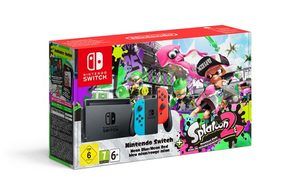 Nintendo Switch + Joy-Con Neon (červená&modrá) - Splatoon 2 Ed.