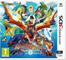 3DS Monster Hunter Stories / RPG / Angličtina / od 7 let / Hra pro Nintendo 3DS