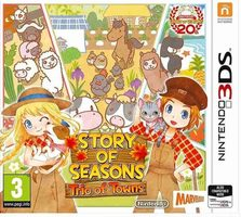 3DS Story of Seasons: Trio of Towns / Simulátor / Angličtina / od 7 let / Hra pro Nintendo 3DS