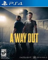 PS4 A Way Out / Adventura / Angličtina / od 18 let / Hra pro PlayStation 4
