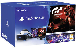 PlayStation VR V2 + Eye Camera V2 + Gran Turismo Sport + VR Worlds