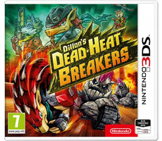 3DS Dillon's Dead-Heat Breakers / Strategie / Angličtina / od 7 let / Hra pro Nintendo 3DS