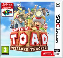 3DS Captain Toad: Treasure Tracker / Adventura / Angličtina / od 3 let / Hra pro Nintendo 3DS