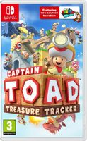 Switch Captain Toad: Treasure Tracker / Adventura / Angličtina / od 3 let / Hra pro Nintendo Switch