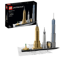 LEGO Architecture 21028 New York City / 598 kostek / od 12 let