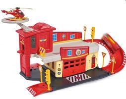 DICKIE TOYS Firefighter Sam Fire Rescue Centre / hasičská stanice