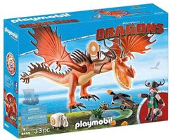 Playmobil Dragons 9459 Snoplivec a Tesák /od 4 let