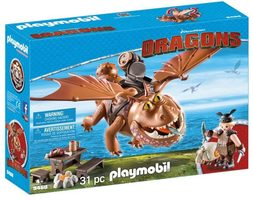 Playmobil Dragons 9460 Rybinoha a Flákota /od 4 let