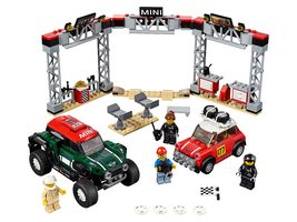 LEGO Speed Champions 75894 1967 Mini Cooper S Rally a 2018 MINI John Cooper Works Buggy / 481 kostek / 8+ let