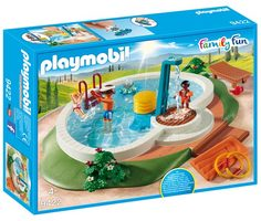 Playmobil Family Fun 9422 Bazén /od 4 let