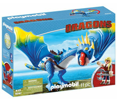 Playmobil Dragons 9247 Astrid a Buřina /od 4 let