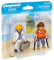 Playmobil Duo-Pack 70079 Lékařka a pacient /od 4 let