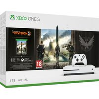 Microsoft Xbox One S 1TB - Tom Clancy's The Division 2 + Ghost Recon Breakpoint Edition