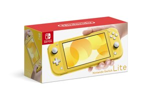 Nintendo Switch Lite - Žlutá