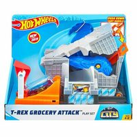 Mattel Hot Wheels City Útok T-Rexe set / 1 autíčko / od 4 let