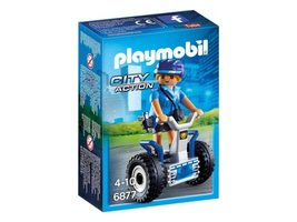 Playmobil City Action 6877 Policistka na dvoukolce / od 4 let
