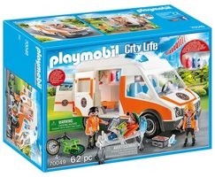 Playmobil City Life 70049 Ambulance se světly /od 4 let