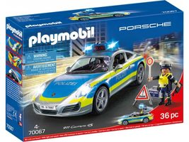Playmobil City Action 70067 Porsche 911 Carrera 4S Policie / od 4 let / 4x AAA