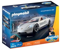 Playmobil The Movie 70078 Porsche Mission E Rexe Dashera /od 6 let