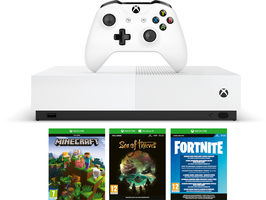 Microsoft Xbox One S 1TB - All-Digital Edition