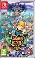 Switch Snack World: The Dungeon Crawl - Gold / RPG / Angličtina / od 7 let / Hra pro Nintendo Switch
