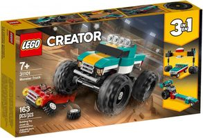 LEGO Creator 31101 Monster truck / 163 kostek / 7+ let