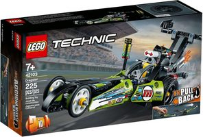 LEGO Technic 42103 Dragster / 225 kostek / 7+ let