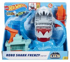 Mattel Hot Wheels Robo Shark Frenzy - robo žralok útočí / od 5 let