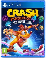 PS4 Crash Bandicoot 4: It's About Time / Plošinovka / Angličtina / od 7 let / Hra pro Playstation 4