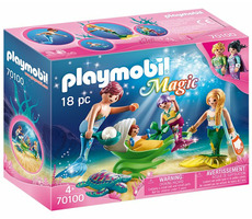Playmobil Magic 70100 Rodina s kočárkem z mušle /od 4 let
