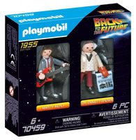 Playmobil Back to the Future 70459 Marty Mcfly a Dr. Emmett Brown /od 6 let
