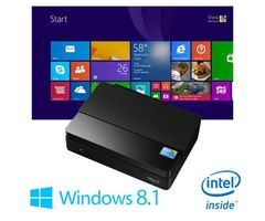 Mele MiniPC PCG03 / Intel Atom Z3735F 1.33 GHz / 2GB DDR3L / 32GB / Intel HD / Win 8.1 Bing