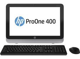 "HP ProOne 400 G1 / 19.5"" HD+ / Intel Core i3-4160T 3.1GHz / 8GB / 1TB / DVDRW / Intel HD / W7P+W10P"
