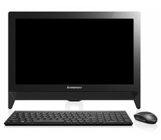 "LENOVO AIO C20-00 / 19.5"" HD+ / Intel Celeron N3050 1.6GHz / 4GB / 500GB / Intel HD / bez OS / černá"