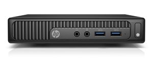 HP 260 G2 / Intel Core i3-6100U 2.3GHz / 4GB / 500GB / Intel HD / Win7P+10P / černá
