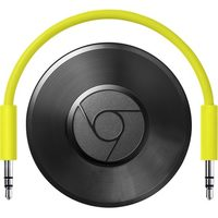 Google Chromecast Audio Black / Mini počítač pro on-line obsah / YouTube / Wi-Fi / Jack 3.5 / Android / iOS / Win/ černý