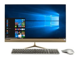 "Lenovo IdeaCentre AIO 520S zlatá / 23"" FHD / Intel Core i5-7200U 2.5GHz / 8GB / 256GB SSD / Intel HD / W10"