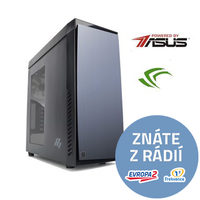 PC MIRONET Game Intel + Win Home / Intel i7-7700 3,6GHz / 16GB RAM 2400MHz / 250GB M.2 + 3TB HDD / GTX 1070